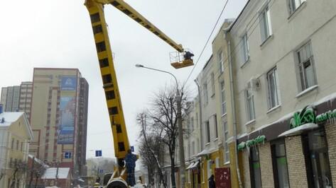В Воронеже за день от наледи и снега очистят крыши 117 домов