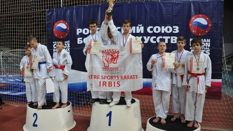 Воронежцы привезли 10 медалей с всероссийских соревнований по каратэ