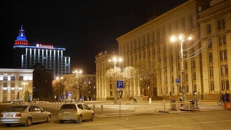 Подсветка знаковых воронежских зданий погаснет в «Час Земли» 27 марта