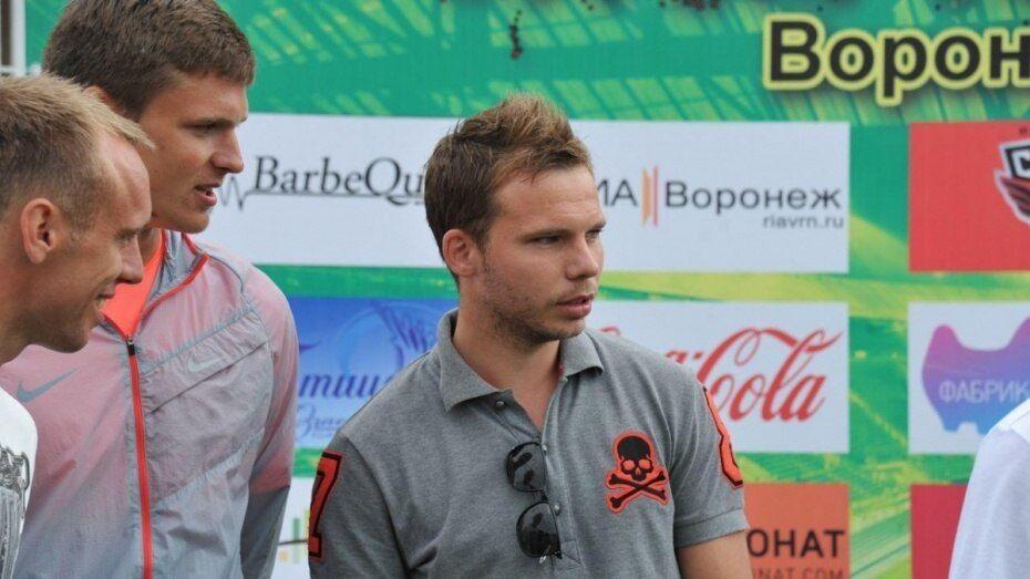 Воронежский игрок получил медаль за развитие детского футбола