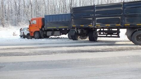 Мужчина и пожилая женщина погибли в ДТП под Воронежем