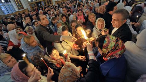 Благодатный огонь доставят в Воронеж в ночь на 28 апреля