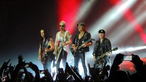 Немецкие рокеры Scorpions пообещали воронежцам сумасшедшее шоу