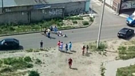 В Воронеже на Ростовской автоледи сбила девочку