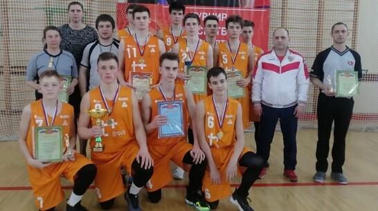 Борисоглебские баскетболисты завоевали 1-е место в межрегиональном турнире