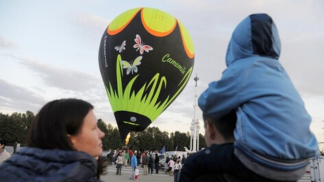 Воздухоплаватели перенесли запуск 10 аэростатов в небо Воронежа