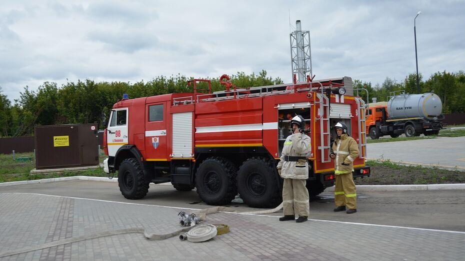 В Острогожском доме престарелых прошли пожарные учения