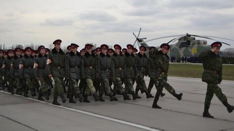Верхнемамонские кадеты впервые примут участие в военном параде в Воронеже