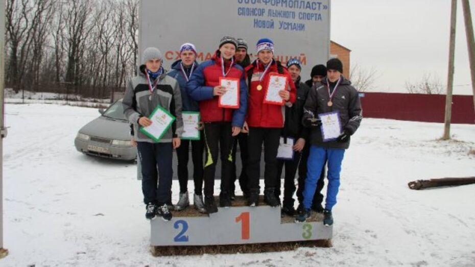 Новоусманские школьники быстрее других бегают на лыжах