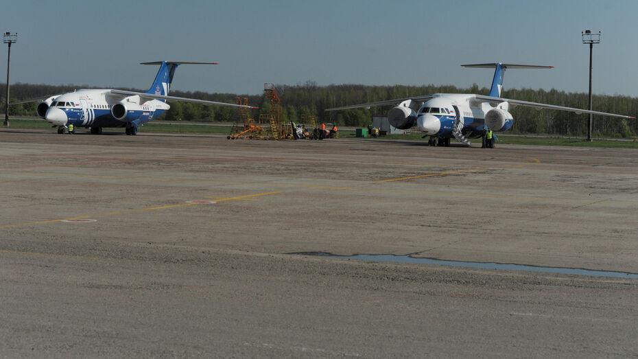 Еще 550 млн рублей потратят на реконструкцию воронежского аэропорта