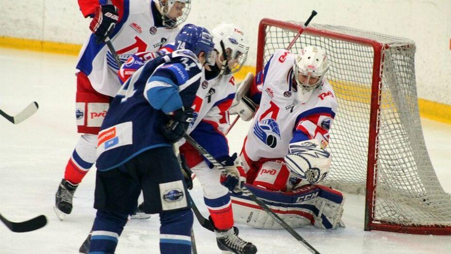 Хоккеисты «Россоши» проиграли по буллитам «Локо-Юниор» в повторном матче