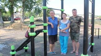 Активисты хохольского села Новогремяченское на месте пустыря обустроили детскую площадку