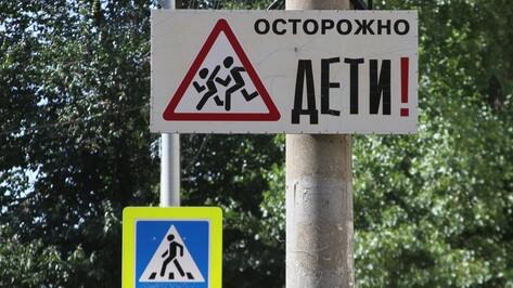В Воронеже мотоциклист сбил 6-летнюю девочку на пешеходном переходе и сбежал