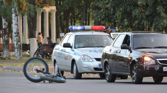 В Борисоглебске 19-летний водитель легковушки сбил девушку на велосипеде