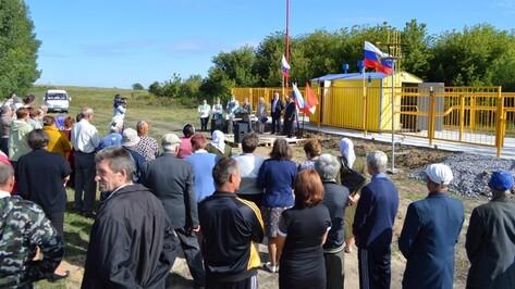 В Александровское сельское поселение Эртильского района пришел природный газ