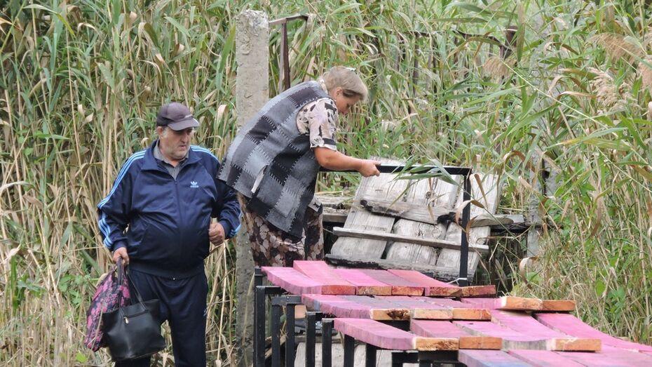 В кантемировском селе Талы общественники отремонтируют аварийный мост