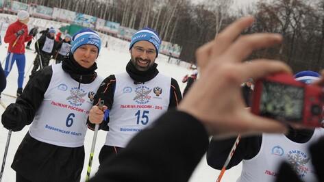 Иностранцы впервые вышли на воронежскую «Лыжню России»