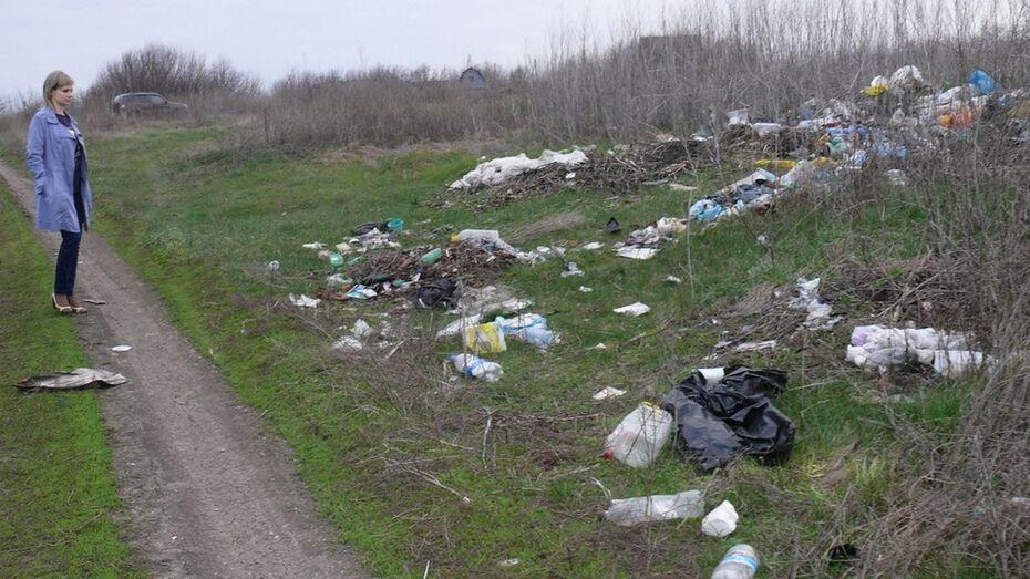 В Грибановке тракториста оштрафовали на 3 тыс рублей за вывоз мусора