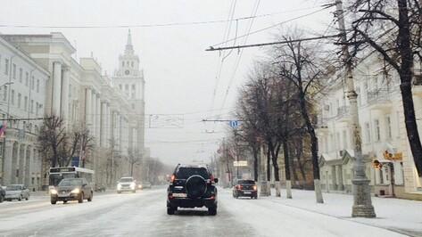 Взгляд из соцсетей: шквальный ветер и снег вернули зиму в Воронеж