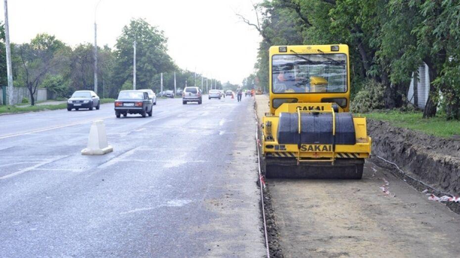 Движение на подъезде к Воронежу из Москвы ограничат из-за дорожных работ 24 и 25 августа