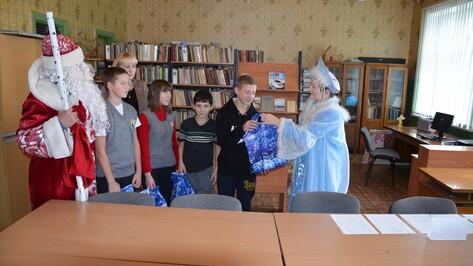 В Верхнемамонском районе завершилась акция «Хочу стать Дедом Морозом»