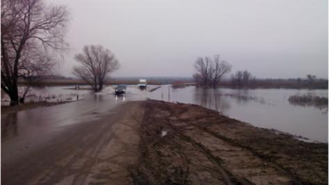 В Воронежской области один из затопленных мостов открыли для движения