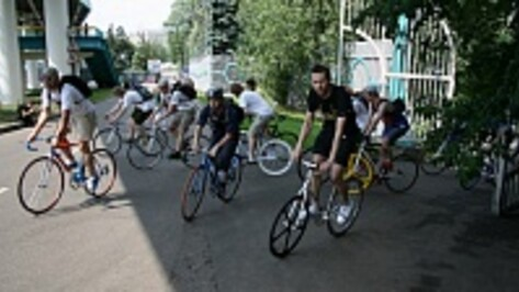 Велосипедисты проведут в центре Воронежа гонку-квест