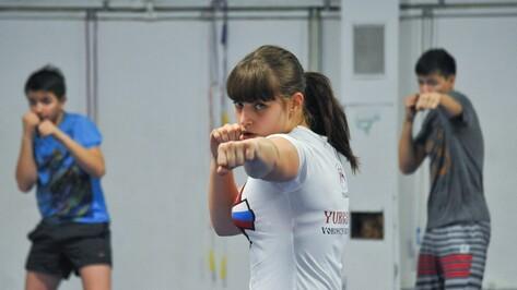 Чемпионка мира по кикбоксингу дала мастер-класс воронежским спортсменам