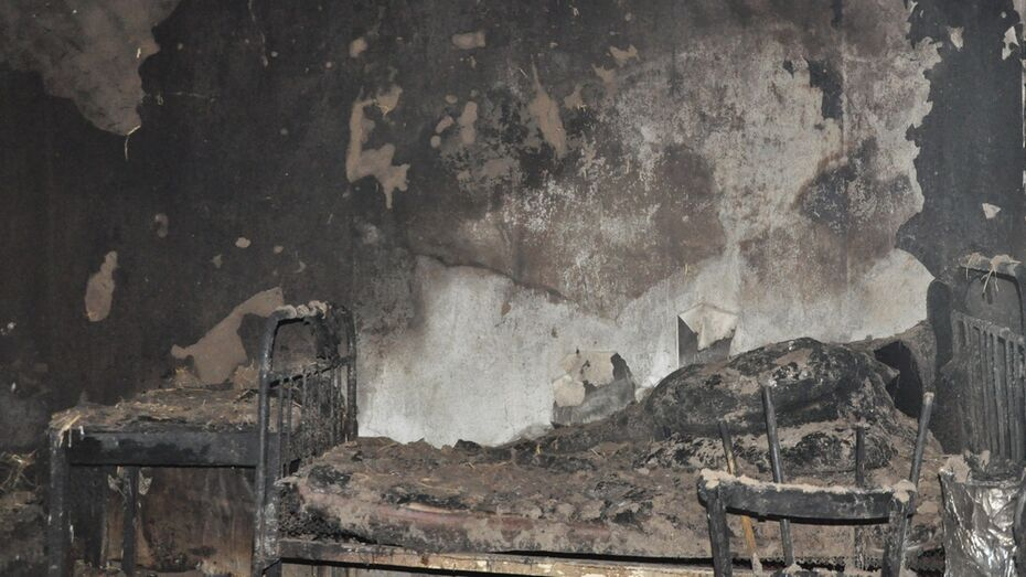 В Репьевском районе при пожаре погибла 95-летняя женщина