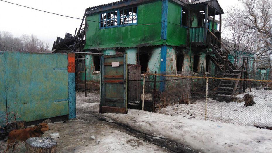 В Воронежской области 3-летний мальчик погиб на пожаре