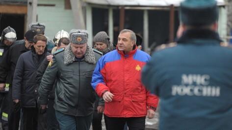 Министр МЧС назвал плохое состояние здания главной причиной пожара в воронежском интернате