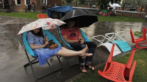 В Воронеже новая рабочая неделя будет теплой и дождливой