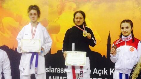 Каратисты из Воронежа завоевали три медали международного турнира