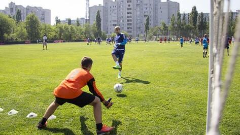 Игроки воронежского «Факела» провели мастер-класс для финалистов «Кожаного мяча»