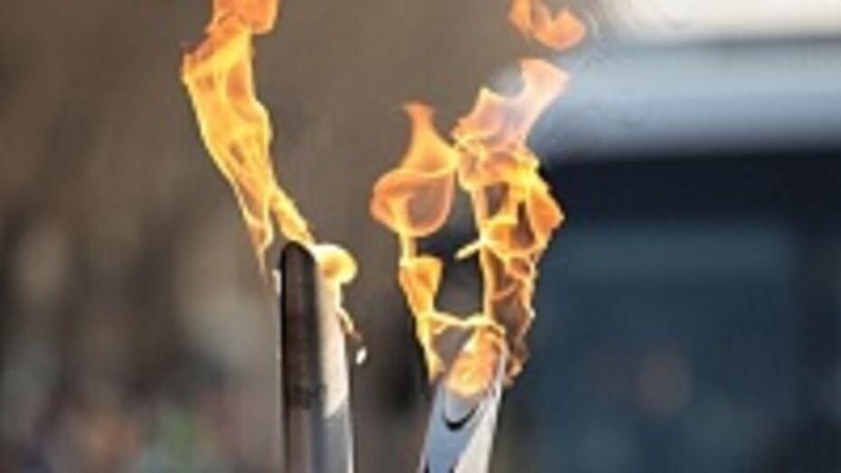 Эстафета олимпийского огня в Воронеже начнется от железнодорожного вокзала, а завершится на площади Ленина