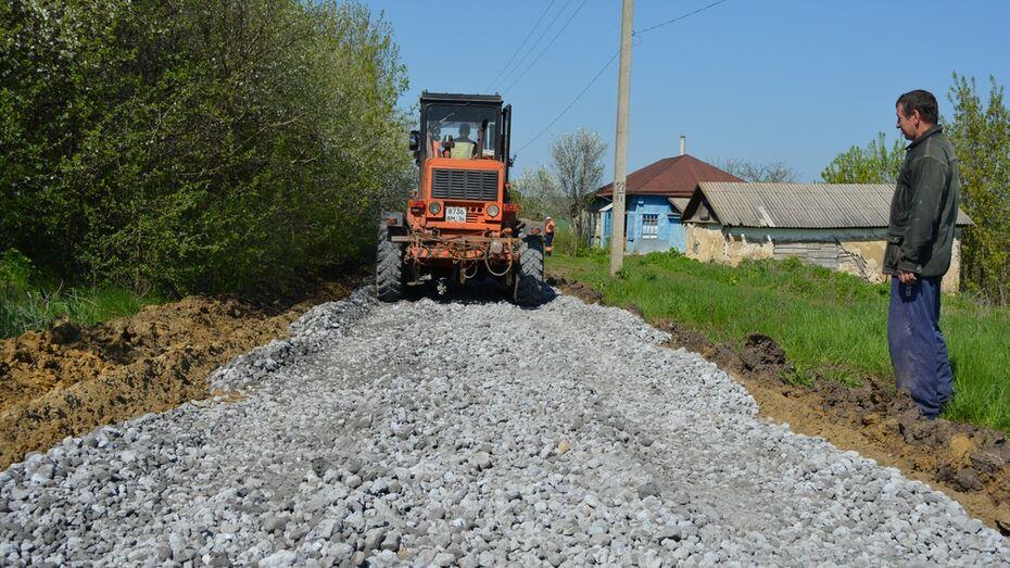 В нижнедевицких селах построят более 10 км дорог с твердым покрытием
