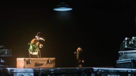 Театр кукол Образцова показал в Воронеже мультимедиа-спектакль о блокаде