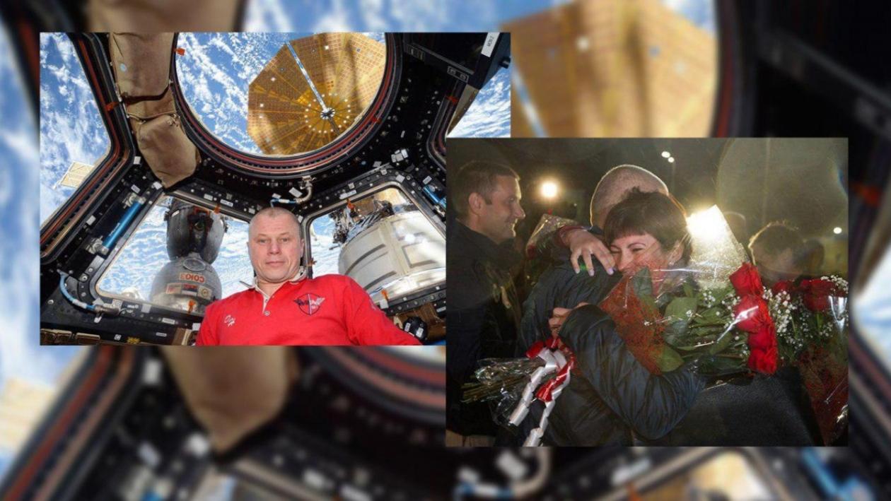 Капсула набок. Как космонавт Олег Новицкий вернулся на Землю к жене из Воронежской области