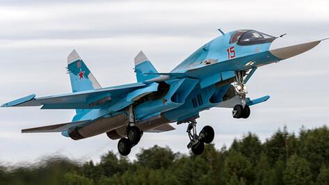 Бомбардировщики Су-34 отработают полеты с дозаправкой в небе над Воронежской областью