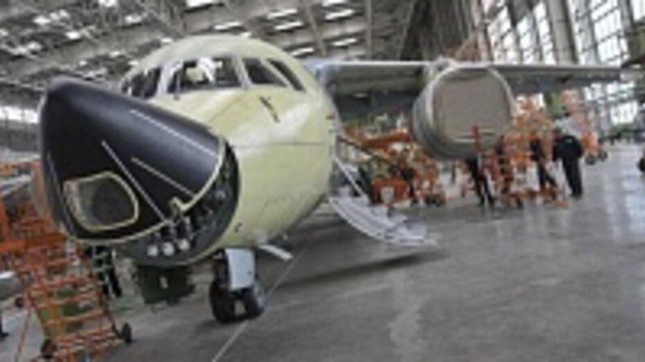 Воронежский авиазавод сэкономит при запуске авиатехнопарка более 640 млн рублей к 2016 году