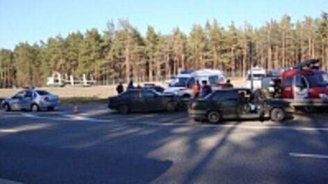 В Воронежской области курянин погиб при столкновении «ВАЗа» и BMW