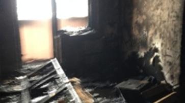 Воронежская многоэтажка загорелась из-за окурка: мужчина получил ожоги