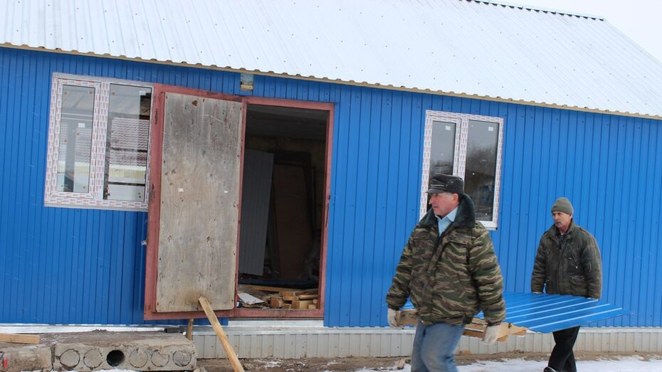 В таловском поселке Казанка начали строить храм