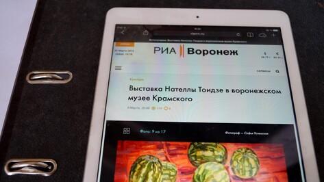 Самым цитируемым СМИ региона – 2014 стало РИА «Воронеж»