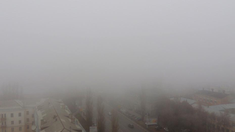 Из-за тумана в Воронеже задержали самолет из Москвы и обратно
