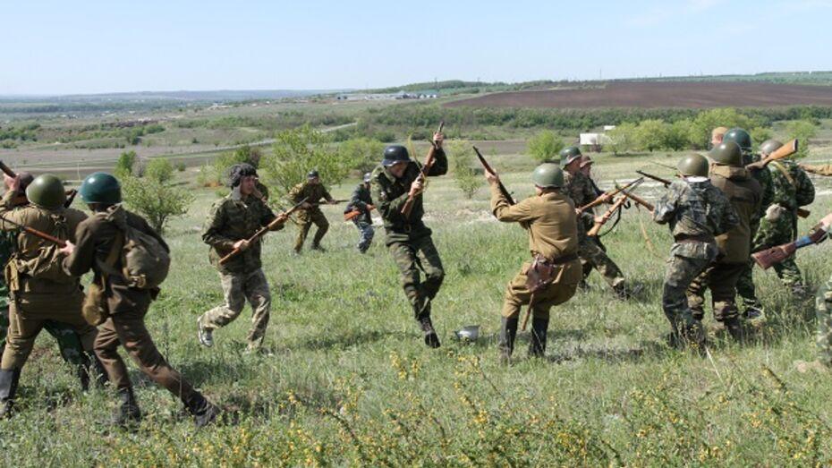 В Богучарском районе реконструировали подвиг восьмой роты