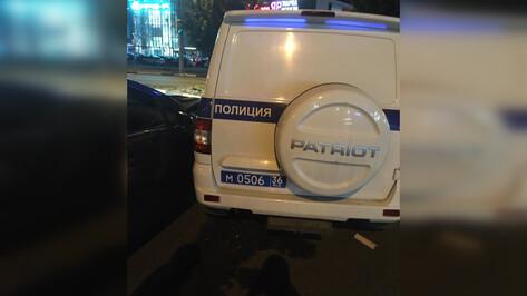 В Воронеже произошло ДТП с участием полицейского