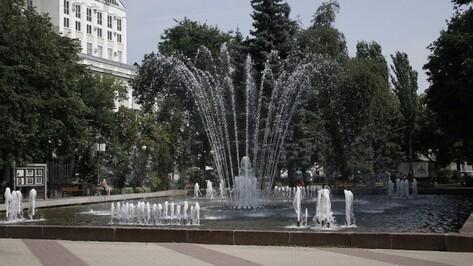 На День ВДВ в Воронеже будут работать фонтаны