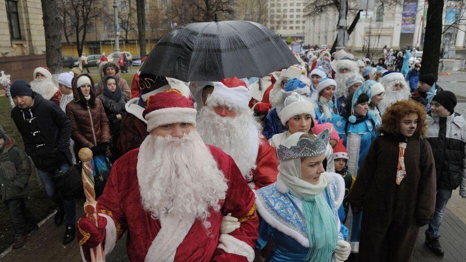 Деды Морозы Воронежа: «Мы заколдуем доллар, и он станет меньше рубля!»