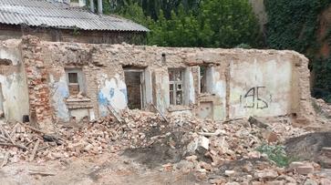 Дом Вагнера в Воронеже «реставрировали» без утвержденного проекта